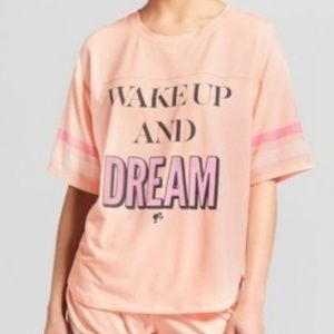 Barbie Wake Up and Dream Pajama Top